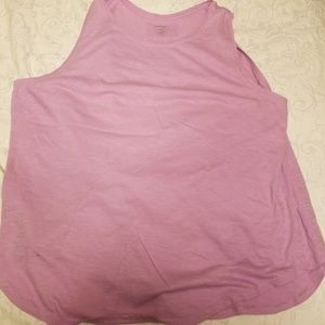 Loft purple tank size XL